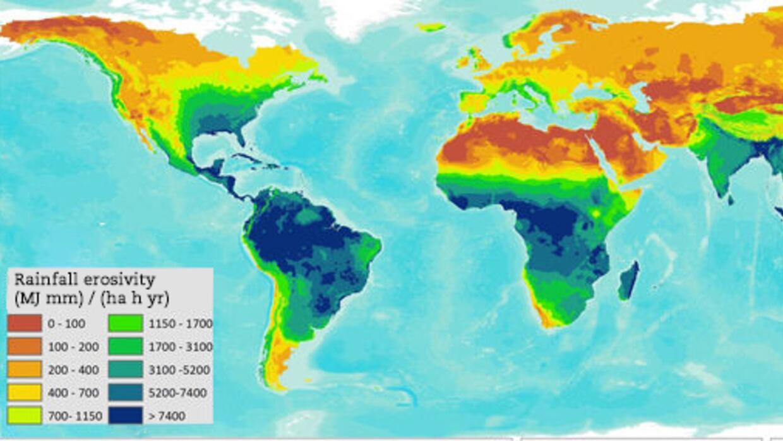 Los bosques tropicales y las zonas de monzón (que cubren la parte...