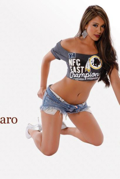 Washington Redskins: CHARO (Foto: Twitter).