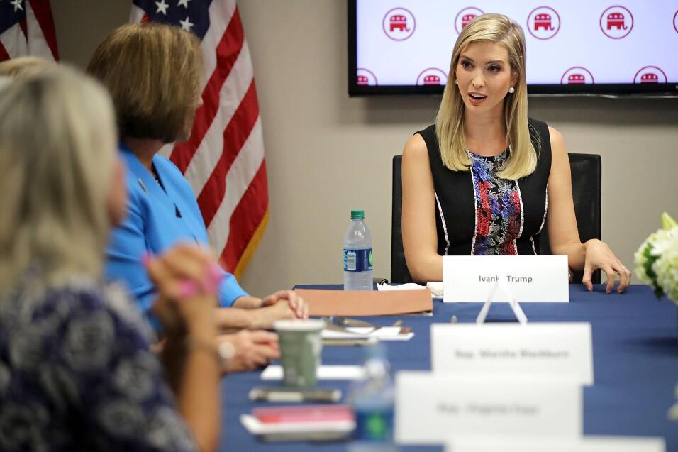 Ivanka Trump tendrá una oficina en la Casa Blanca GettyImages-609150790.jpg