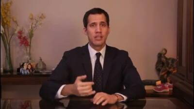 """Ustedes saben el camino que debemos seguir en circunstancias decisivas"": Guaidó a militares venezolanos"