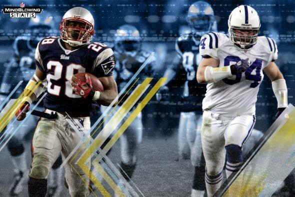 9. Indicador Super Bowl: Los Colts y los Patriots se enfrentaron en la p...