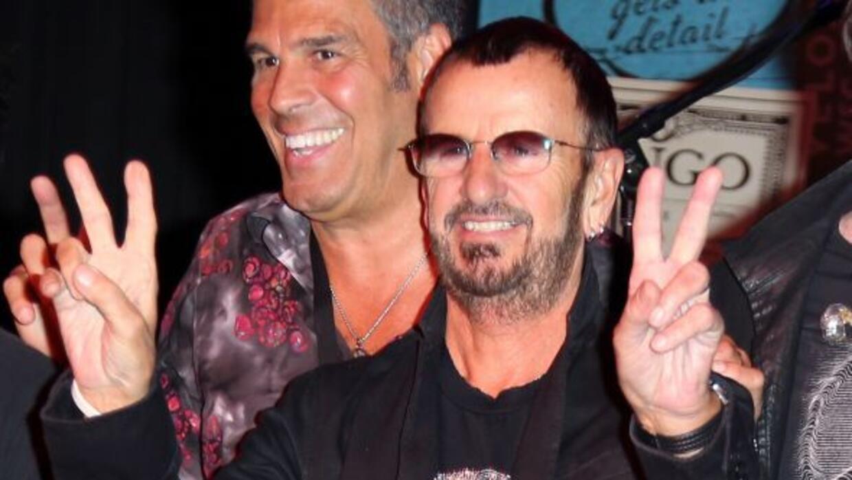 El ex Beatle Ringo Starr, deleito a sus fanáticos peruanos con un gran c...