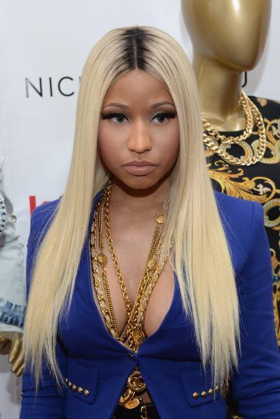Nicki Minaj es otra de las cantantes, ante la menor provocación, usa un...