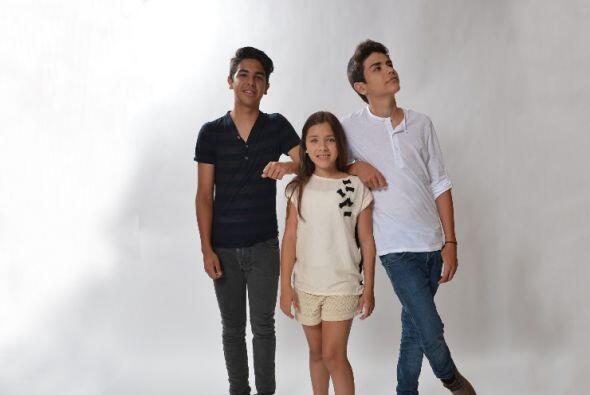 Abelardo, Angela y Gustavo son la sensación juvenil. Se hicieron famosos...