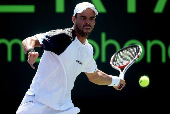 En la primera ronda ATP: El colombiano Alejandro Falla debutó con un rot...