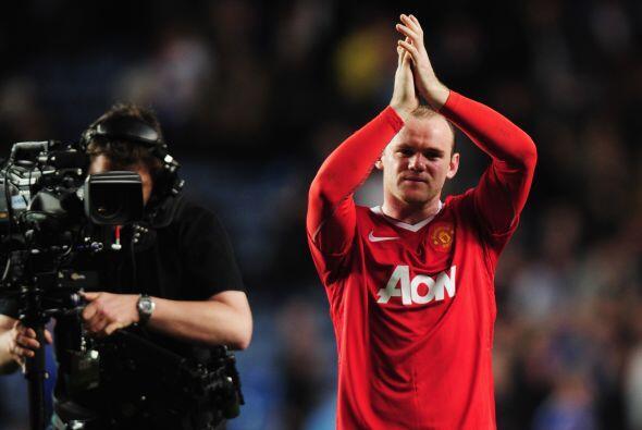 Triunfo de 1-0 para el 'Man-U', gracias a Rooney, y de este modo Chelsea...