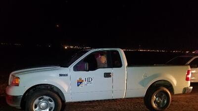 Camionetas piratas en el contrabando en la frontera