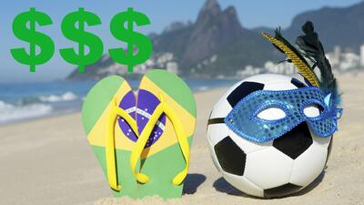 El precio por ir a ver el Mundial de fútbol a Brasil 2014