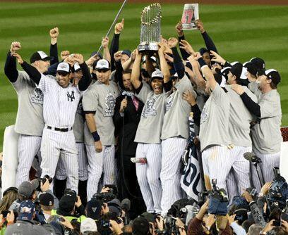 La celebración Yankee Todo Nueva York y millones de fanáticos que siguen...