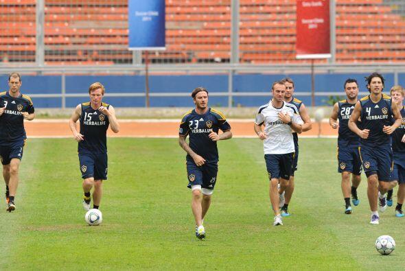 Galaxy entrenamiento en Indonesia