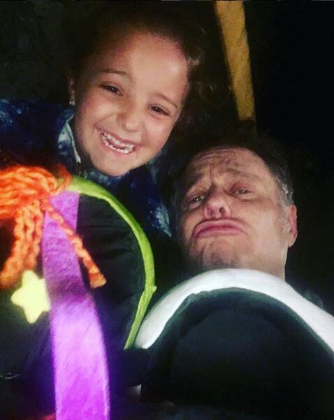 Alexis Ayala y su hija Roberta