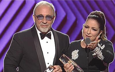 Gloria y Emilio Estefan