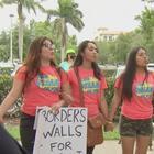 Protestan por supuestos maltratos contra indocumentados en un centro de inmigración en Miramar
