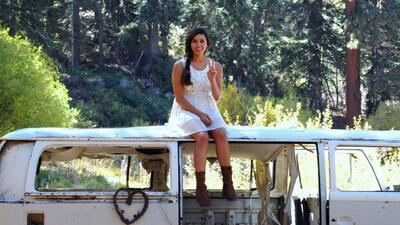 Así se salvó de la muerte esta joven en San Bernardino