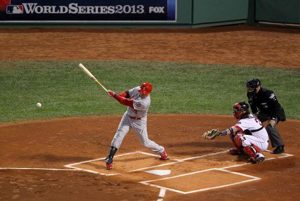 El bateo de los Cardinals apareció a la hora correcta, siete hits...