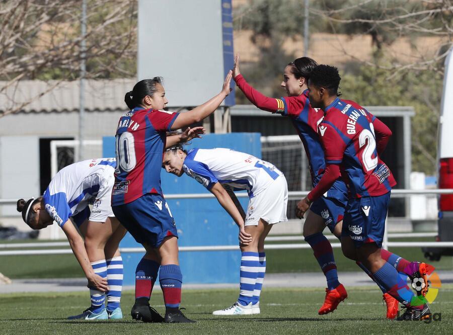 Levante [2]-1 Sporting de Huelva: para el equipo Granota marcó gol Charl...