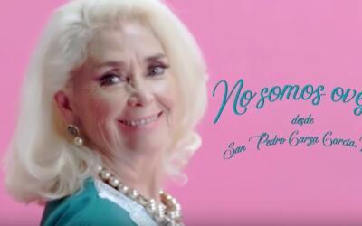 El personaje Lety Garza Treviño en el video 'No somos ovejas'