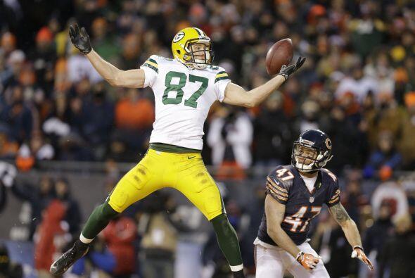 N° 83 Jordy Nelson, Green Bay Packers (AP-NFL).