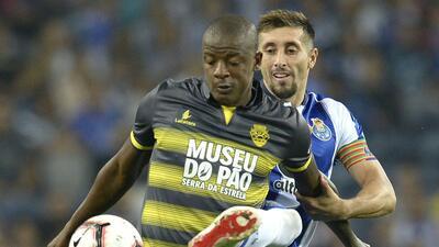 En fotos: el amargo empate del Porto con Corona y Herrera ante el Chaves
