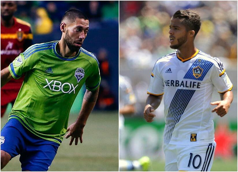 Dempsey y Giovani dos Santos, otra vez frente a frente.