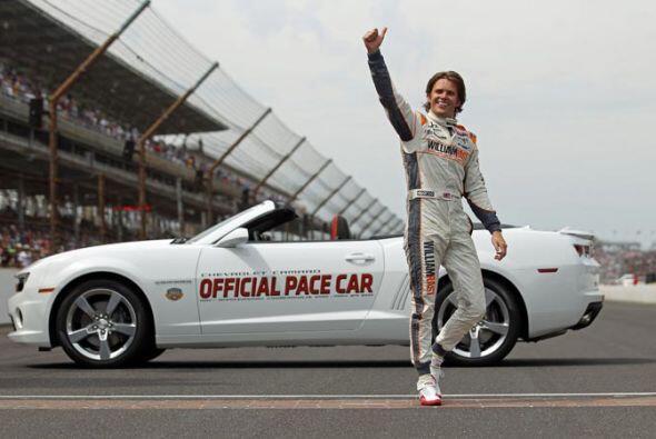 Esta fue la segunda victoria de Wheldon en la mítica Indy 500.