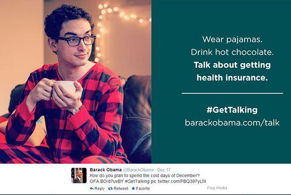 Pajama Boy formó parte del primer esfuerzo de la administración Obama co...