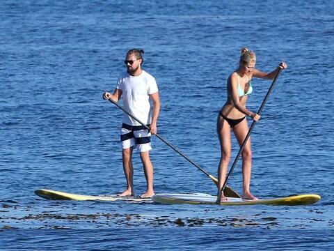 Leonardo DiCaprio se ha distinguido por conquistar a las rubias m&aacute...