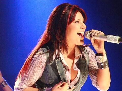 La cantante interpretó uno de sus más recientes éxi...