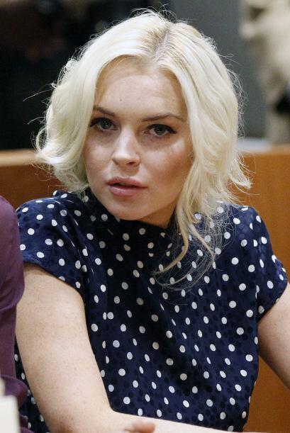Lohan inclusó posó para la revista del conejito, argumentado que era par...