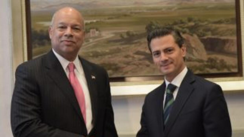 El presidente Enrique Peña Nieto se reunió este martes con el Secretario...