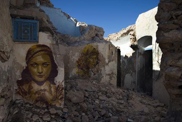 Djerbahood es uno de los proyectos más grandes de arte urbano que...
