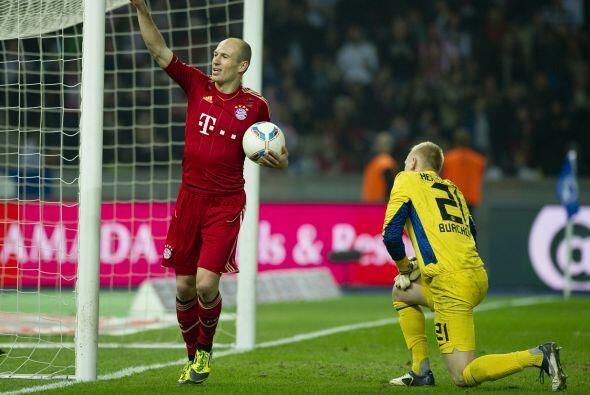 El futbolista del Bayern Munich cumplió con un buen partido en Champions...
