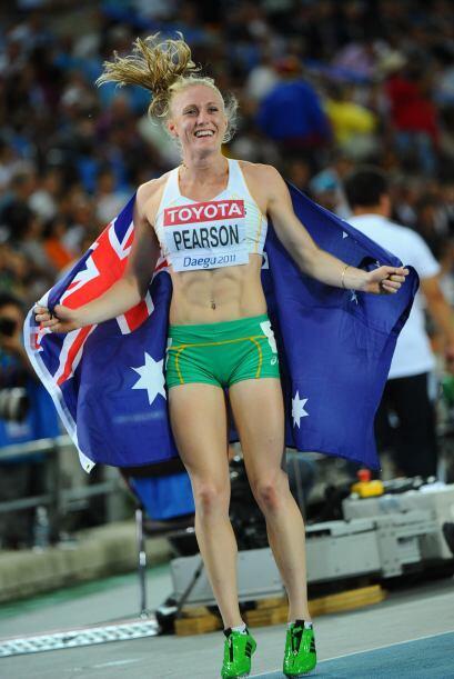 La australiana Sammy Pearson se quedó con el Oro en los 100 metros con o...