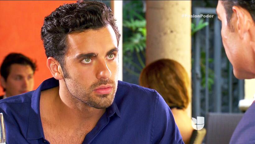 ¡Eladio casi descubre el romance de David!