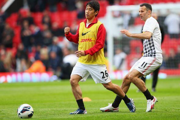 El Manchester United jugaba ante Aston Villa dentro de la Liga Premier i...