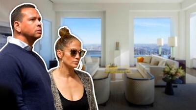 Menos de un año les duró el encanto: Jennifer López y A-Rod ponen en venta su departamento en NYC