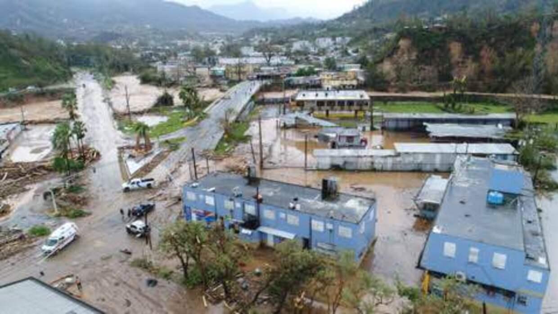 Fotos aéreas de la intersección entre las urbanizaciones C...