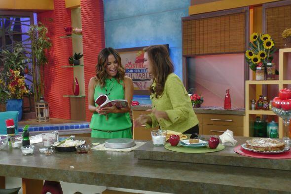 En la cocina, Lucy Pereda nos enseñó a preparar un delicioso 'Pastel de...