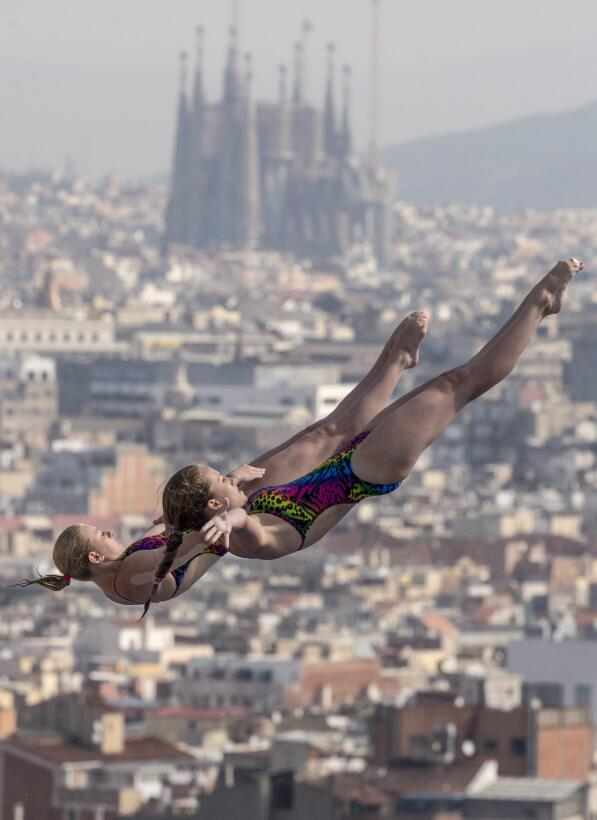 In photos: Barcelona in happier times - from Gaudi to Messi. 1020774_2_6...