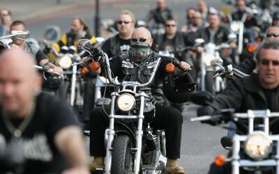 La pandilla de motociclistas Hells Angels es considerada una organizaci&...