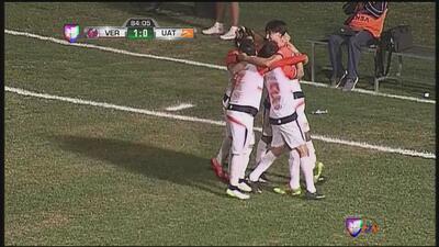 Eduardo Gallegos anota el del empate para Correcaminos ante Veracruz