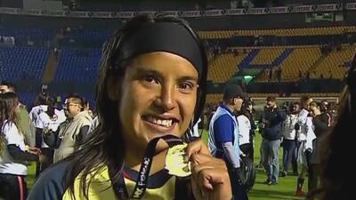 Lucero Cuevas atribuyó el título de Liga MX Femenil a que América nunca bajó los brazos