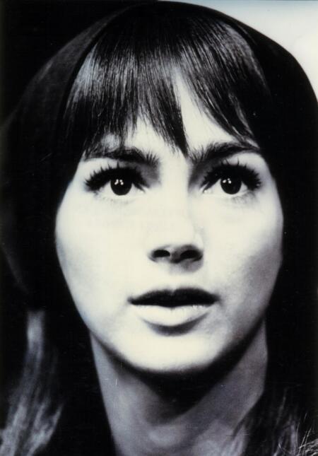 Ofelia Medina en la telenovela 'Lucía sombra' (1971).
