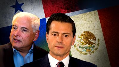 Martinelli y Peña Nieto en medio de escándalo de hackeo