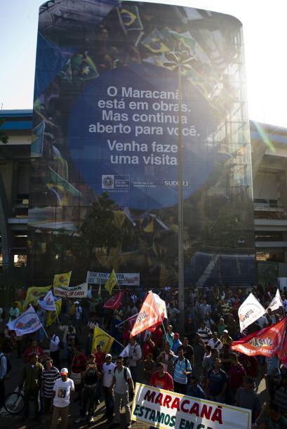 Las obras en el Maracaná están estimadas en más de 660 millones de dólares.