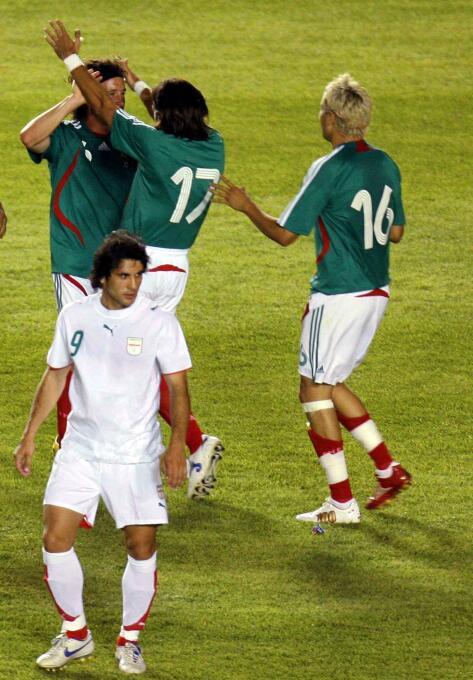 México vs. Irán 02 de junio 2007.