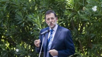 El jefe del Gobierno, Mariano Rajoy, no descartó el pasado 3 de agosto l...