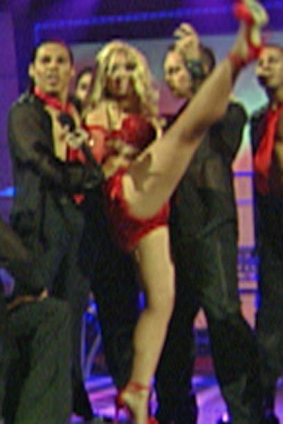 Luego de bailar y cantar, los jueces quedaron muy satisfechos con su pre...