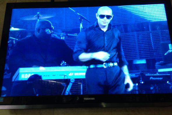 ¡Conciertazo de Pitbull en el Rodeo Houston!
