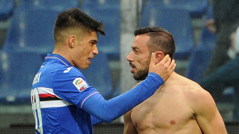 Sampdoria hunde al Frosinone en Italia